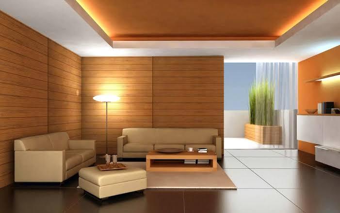 Penggunaan Wallpaper Dinding Motif Kayu